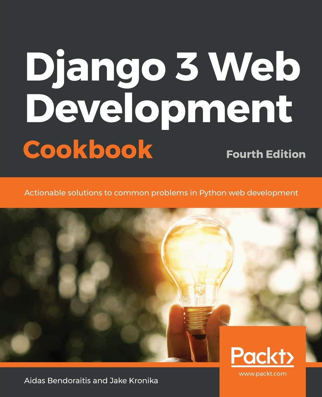 Django 3 Web Development Cookbook - Fourth Edition